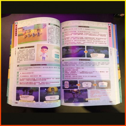 Game Weekly Nintendo Switch NS Animal Crossing Guide Book