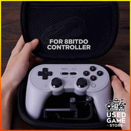 8Bitdo Classic Controller Travel Case for Sn30 Pro+ & Pro 2 Controllers, Switch Pro, PS5, PS4, Xbox One Controller and More - Nintendo Switch