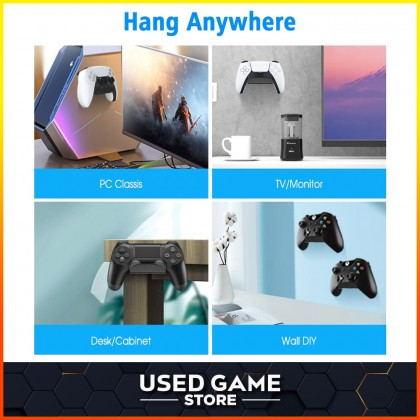DOBE Controller Stand Wall Mount Headphone Holder for PS5 / PS4 / Nintendo Switch / Xbox Controller