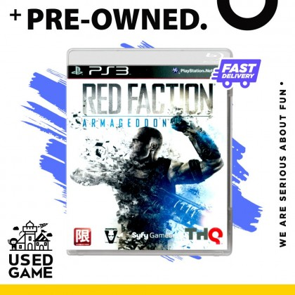 Ps3 Red Faction: Armageddon [R3/Eng]- [Pre-owned]